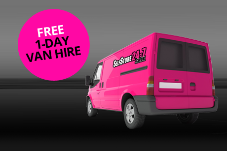 Free 1-day van hire